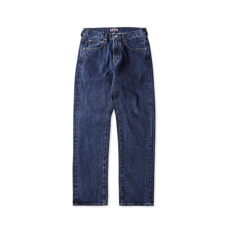 Jeans standard Micro droite Jeans pour hommes Casual Ear Wash Red Denim Retro Leggings de haute qualité