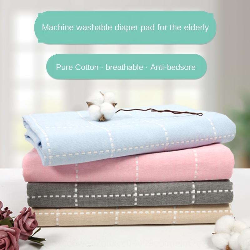 garza di cotone impermeabile e lavabile traspirante grande adulto urine infermieristica pad cura pad per gli anziani il materasso dell'urina per gli anziani