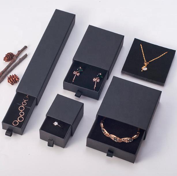 صناديق درج العرف شعار رقة المجوهرات سوار ورقة الصلب جامدة درج علبة هدية