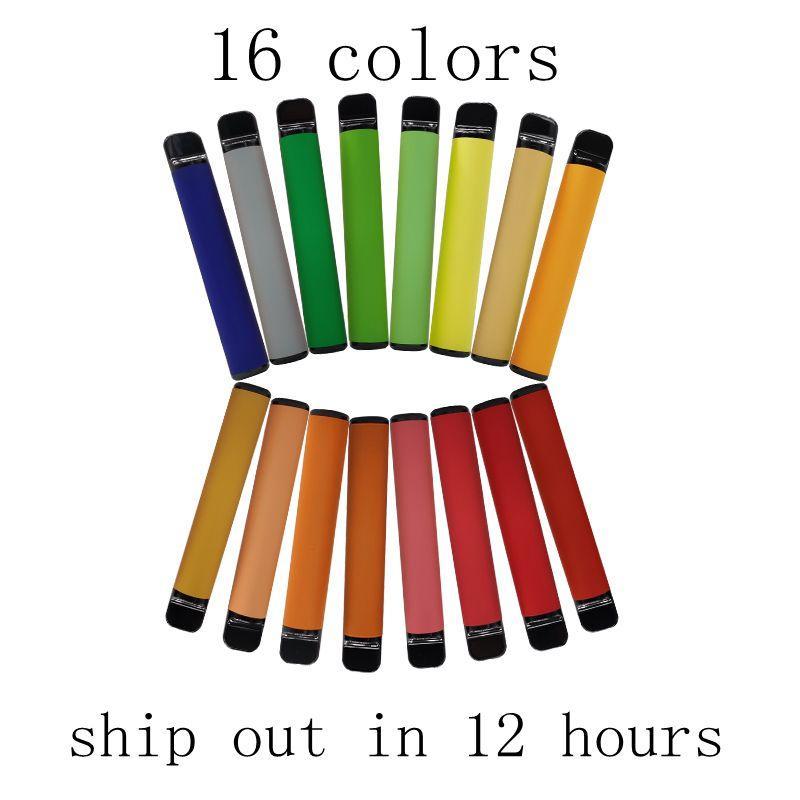 Одноразовое устройство Pod 550mAh Батарея 3,2 мл Ручки Vape Картридж упаковки Пустые Электронные сигареты Vapor выполненный на заказ