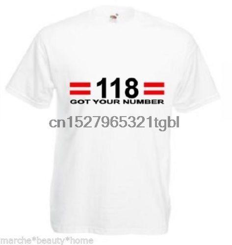 drôle 118 a votre humour robe de fantaisie T-shirt des hommes nombre moyen tee blanc froid fierté Casual hommes t-shirt unisexe New Mode
