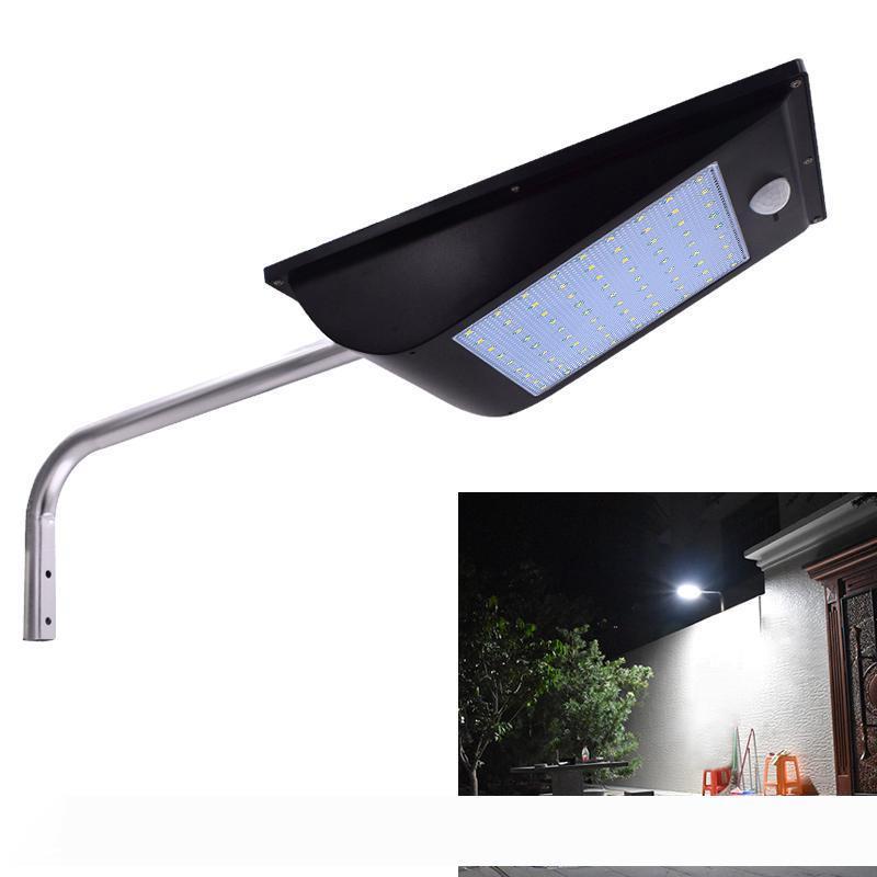11000mAh Solargarten-Licht 110LED Super Bright-Bewegungs-Sensor-Licht Sicherheit Stree Lichtmast mit 3 Modi Fernbedienung