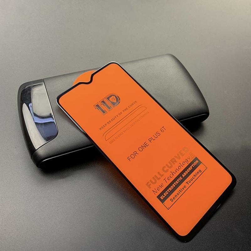 mietubl inrayable 11D Full HD Colle pleine courbe écran en verre trempé Film pour OnePlus 6T