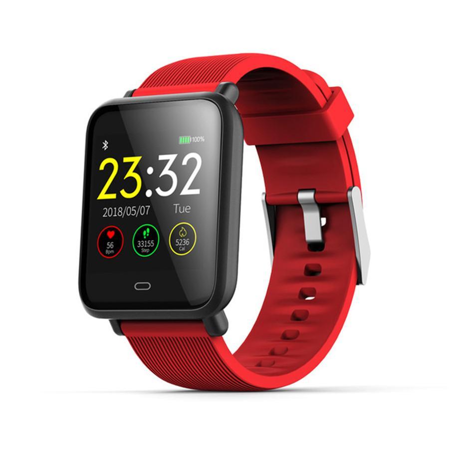Q9 Blutdruck-Puls-Monitor-androide intelligente Uhr IP67 wasserdicht Sport-Fitness Trakcer Uhr Smartwatch reloj inteligente