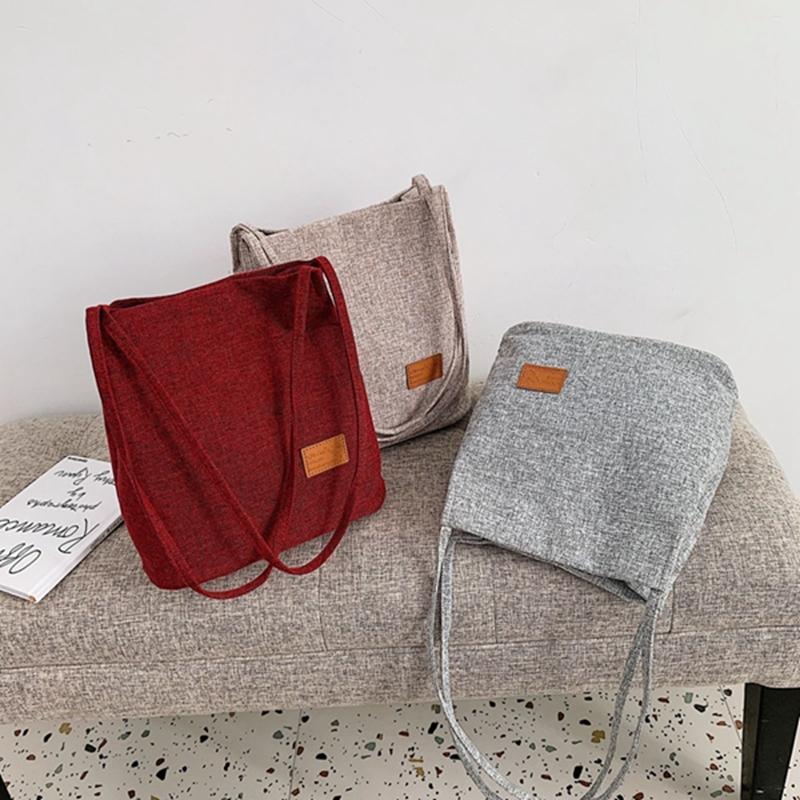 SMOOZA Casul Linho Patchwork Mulheres senhoras de saco Mensageiro sacos de ombro exterior do saco bolsa simples Sling Bags Mulheres Crossbody Bag Tot