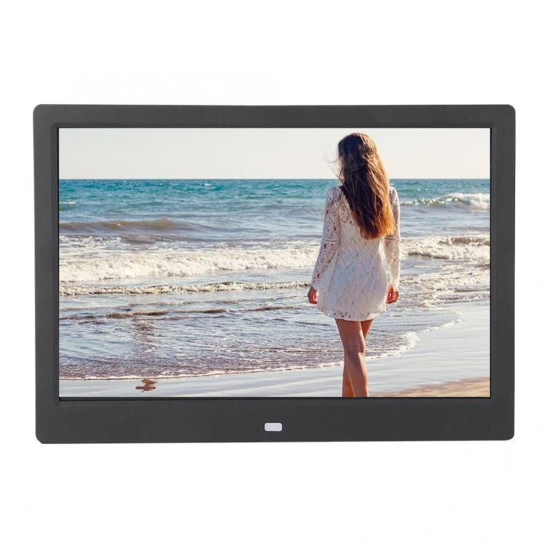 12 بوصة WIFI HD ألبوم الصور الرقمية الإطار فيديو لاعب التحكم عن بعد لنظام أندرويد
