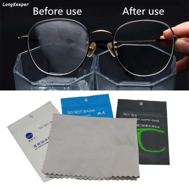 Technology Anti-fog Glasses Cloth Eyeglass Care Advanced Nano Microfiber Cleaning Cloth Sunglass Phone Screen Computer Portable
