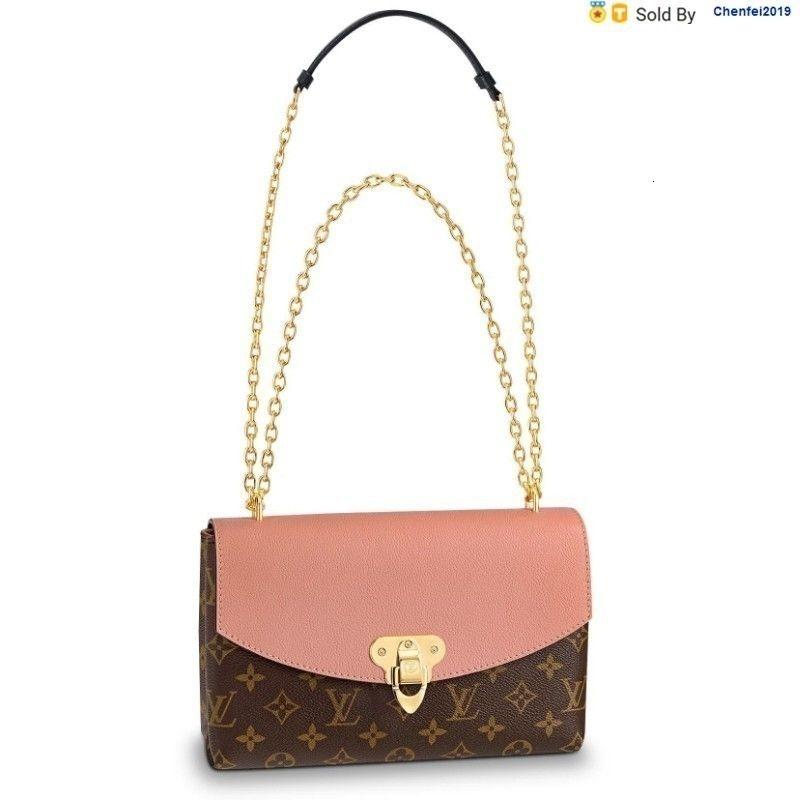 chenfei2019 2WQJ Saintplacide Peach Pink Sloping Shoulder Bag M44274 Totes Handbags Shoulder Bags Backpacks Wallets Purse