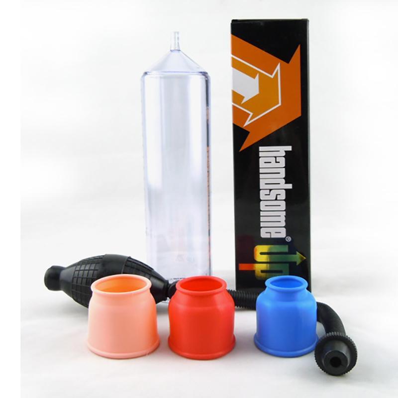 Красивый Up Увеличение Вакуумный насос Extender Penis увеличитель для мужчин мастурбатор секс игрушки набор Y200616