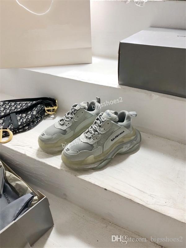 Balenciaga shoes Maladroit Sneake coréenne Respirant sport décontractée étudiants mode chaussures de course de gc200509