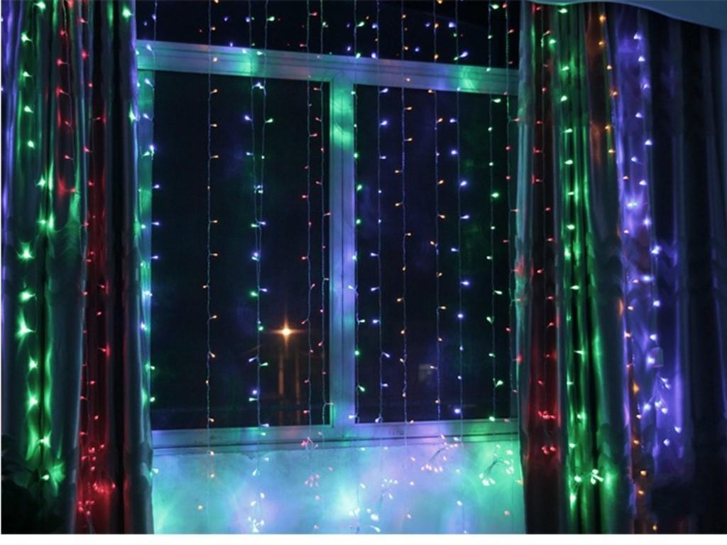 8x3 متر 800dled الستار حفل زفاف led الستار جليد صافي أضواء عيد الميلاد حديقة المصابيح في الهواء الطلق الصمام الجنية الإضاءة للماء