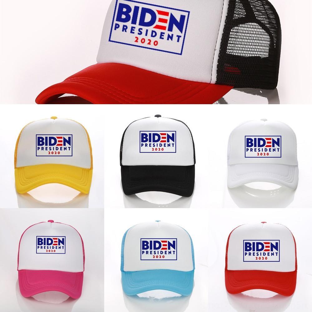 ZhAhN Biden 2020 Baseball Cap Keep 5Colors Great Letter Hat Donald Embroidered Hats Designer Patchwork Mesh Mens Hat Baseball Caps America