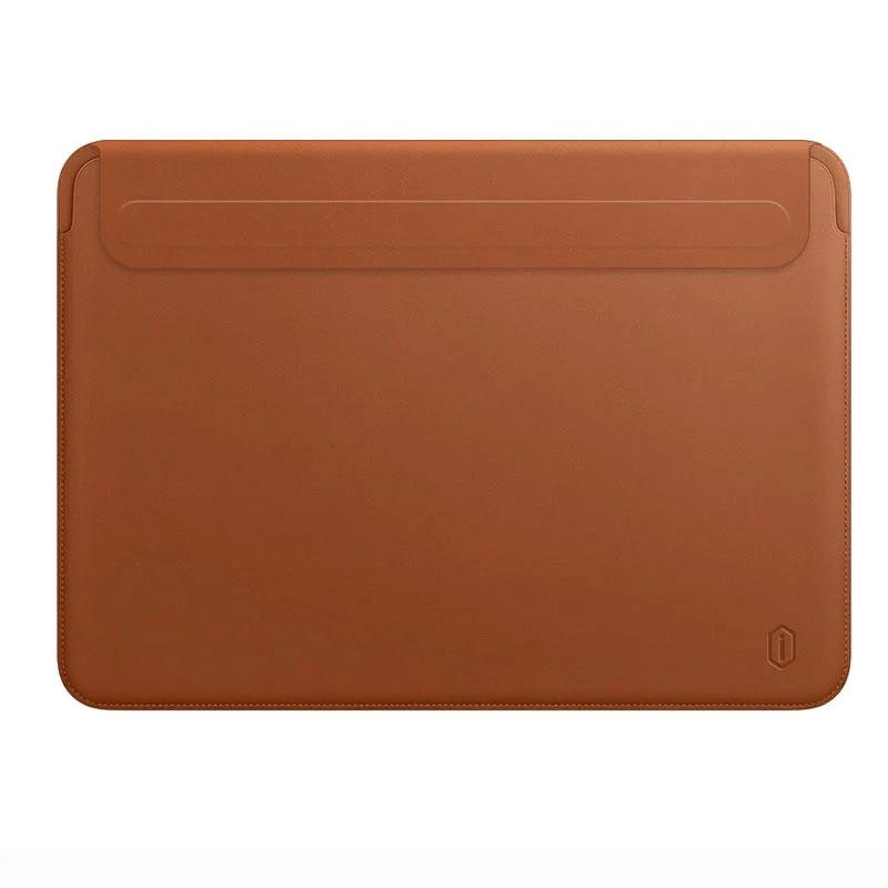 Ultra-thin PU Leather Laptop Bag Blue Case 13 for Macbook Pro/Air 13.3 A1706/A2159/A2179/A1989/A1708/A1932