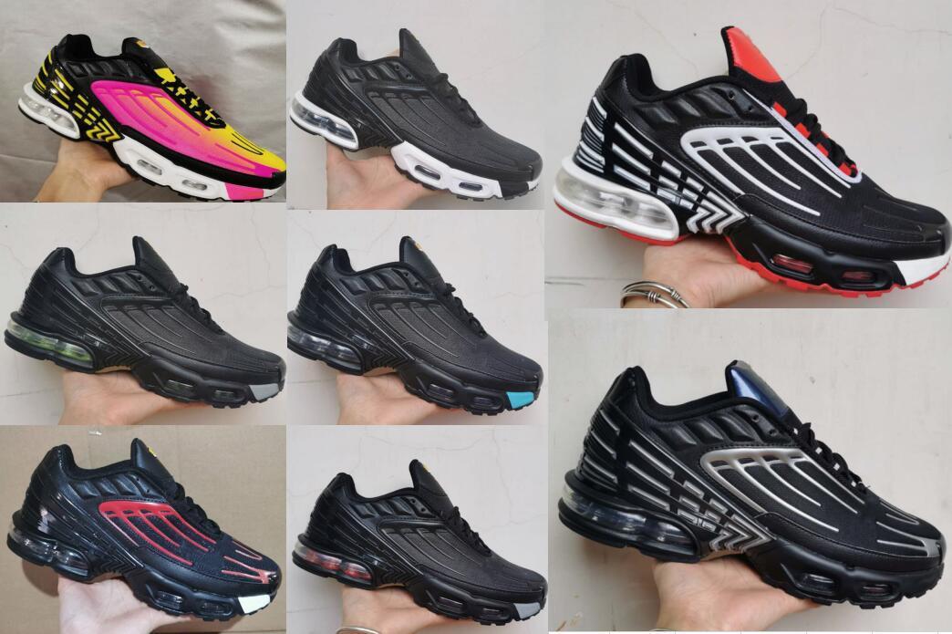 Acheter Pas Cher 2021 TN Air Max Plus 3 TUNED Hommes Chaussures De ...