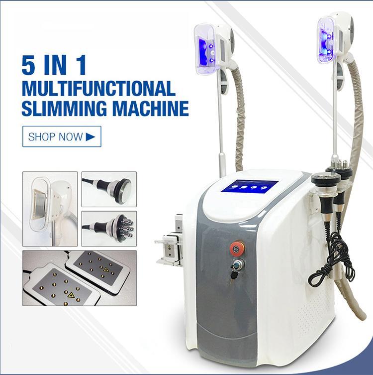 Neue Technologie Cryolipolysis Schönheit Maschine Fett Fett Einfrieren Kavitation RF Lipolaser Vakuum Einfrieren Gewicht Maschine reduzieren