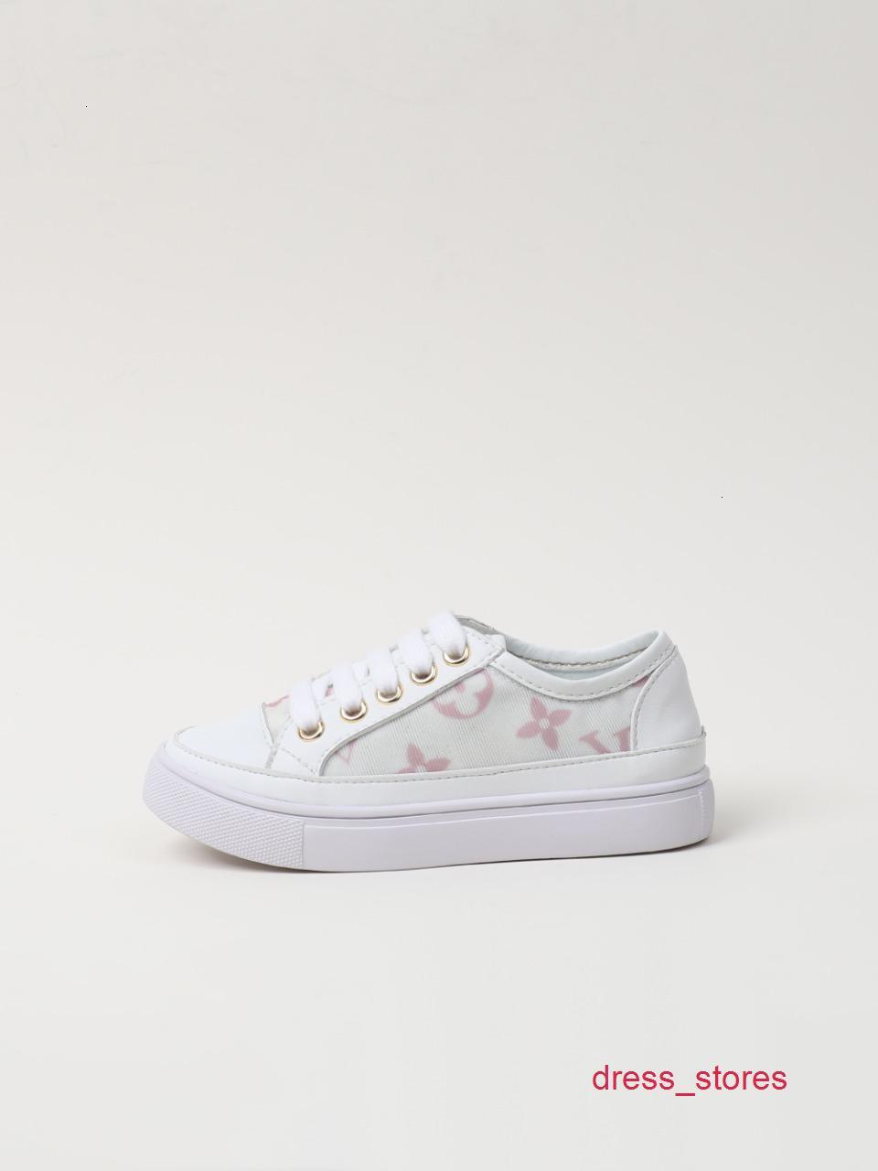 Nuevo patrón de zapatos casuales de la moda unisex muchachos de los niños Tiempo libre impresión niñas