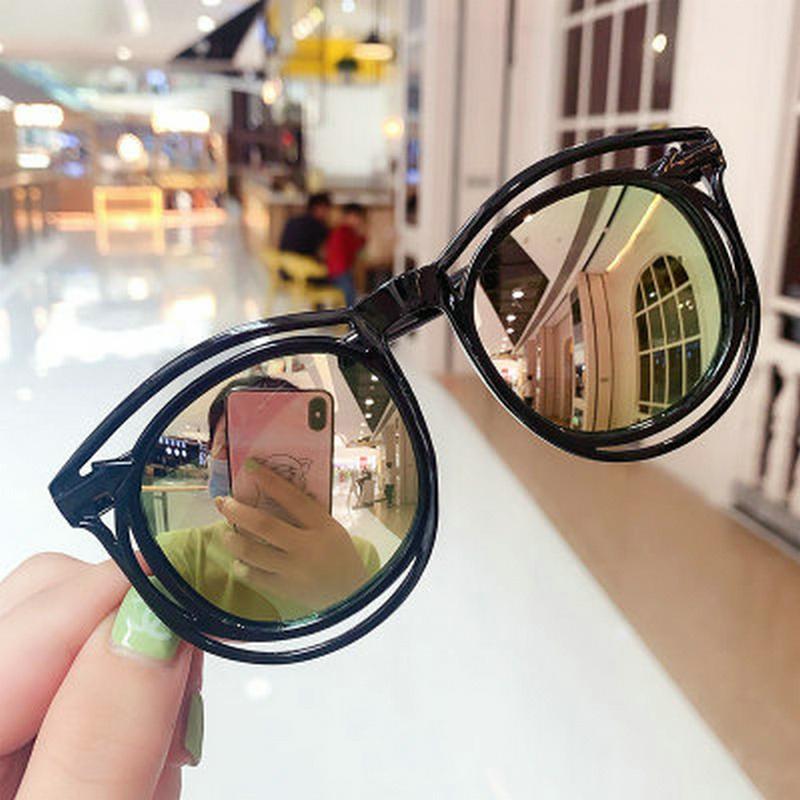 gafas de sol para niños niño Gafas de sol de color rosa enfants de lentes de gafas de sol de plástico chicos buenos baratas 2019 ofertas de venta hairclippers2011 kVOVz