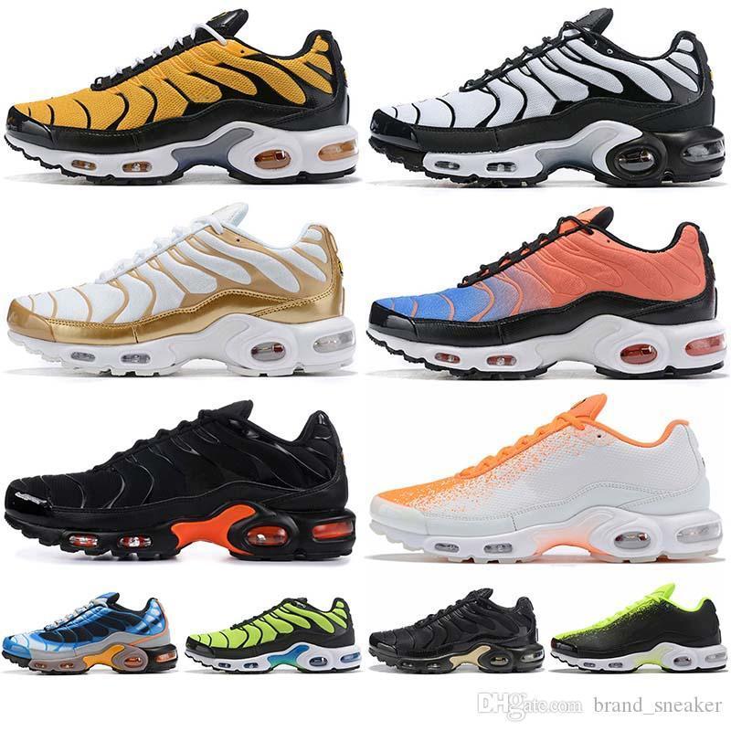 Artı TN Mens Sneakers Multicolors OG SE Ultra Beyaz Siyah Spor Atletik Açık KAPALI Ucuz Yürüyüş Koşu NIK Erkekler Ayakkabı