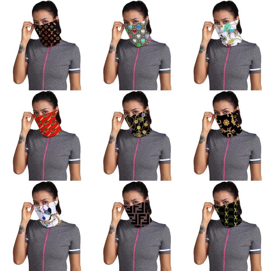 Maschera Maschere Fashionoutdoor Usa Flag Magic Head Scarf Bandana in bicicletta capo del collo Sciarpe Sport antivento Fronte Con Filter Designer Mask # 47 ## 122