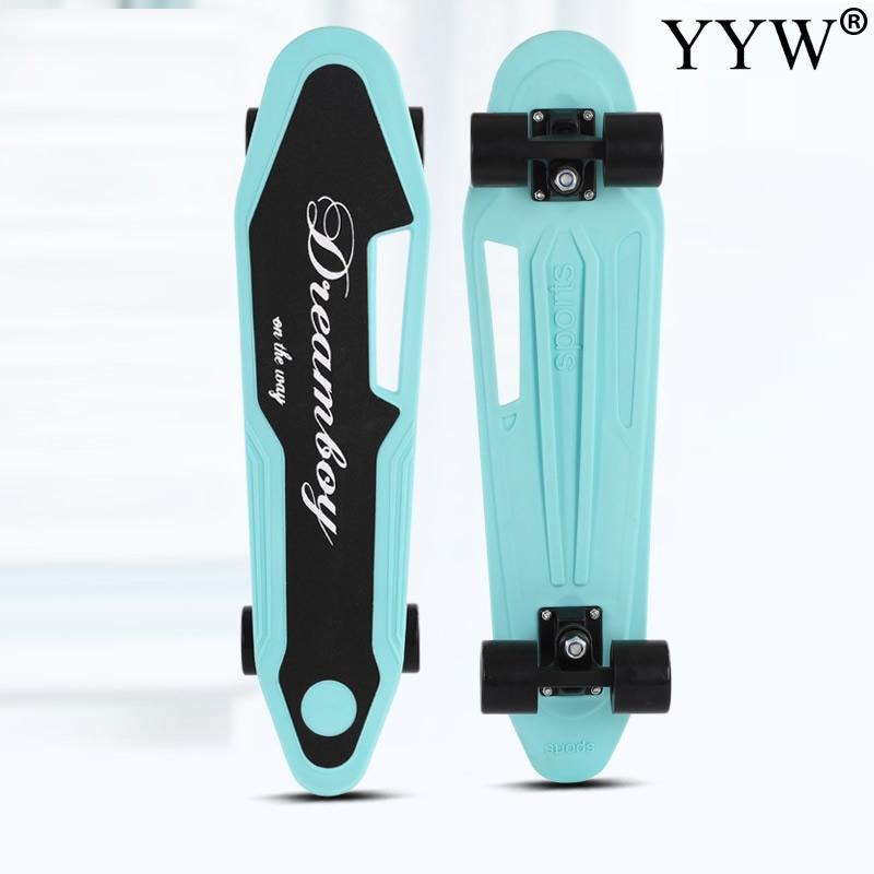 Retro Longboard Skateboarddecks Jungen-Mädchen-Skate-Brett komplett Mode Penny Art-Super Cooler Kreuzer Skateboard Kunststoff