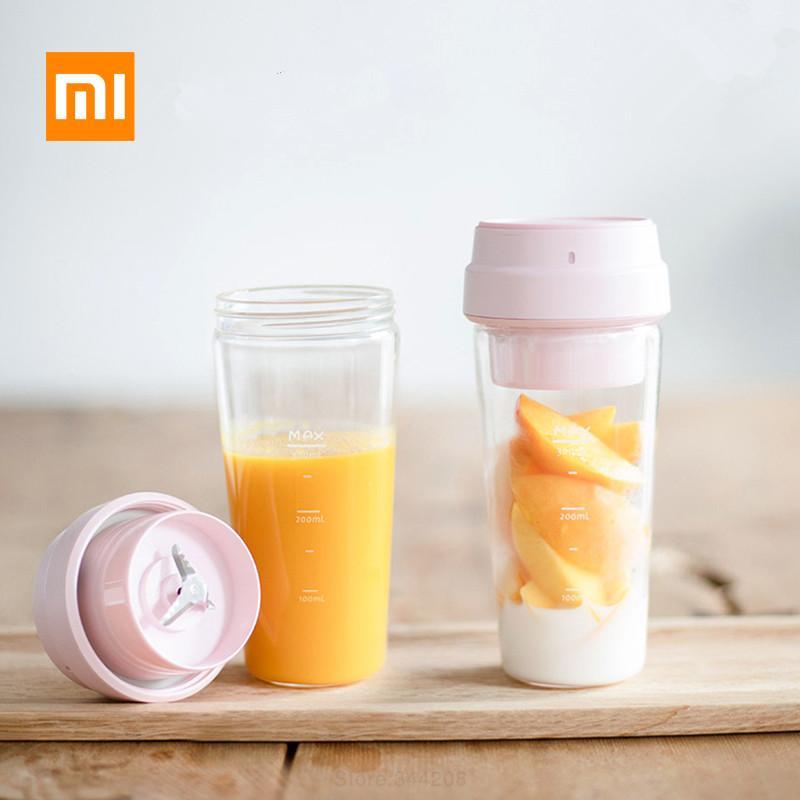Xiaomi 17PIN Star Fruit Cup Petit mélangeur portable Juicer mélangeur robot culinaire 400ML Charging magnétique 30 secondes rapide