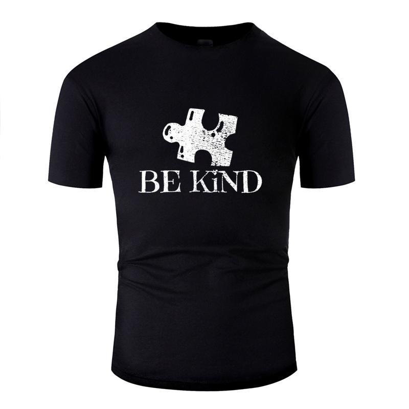 Harajuku autismo camiseta Luz Solar consciência para Mens bonito Impresso T-shirts Cinzas 2020 Camisas shirt Tops Hiphop