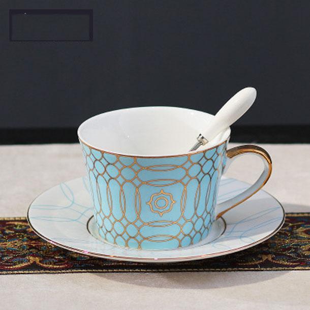 2020 COFFE MUG European pure Ceramic coffee cup saucer set Circle bird stripe paint Phnom Penh Coffee Cupprofessional mug coffee cup