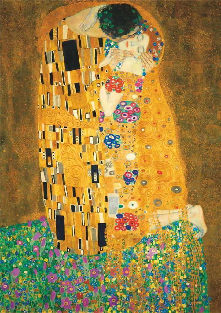 Густав Климт - Поцелуй Home Decor расписанную HD Печать Картина маслом на холсте Wall Art Canvas картинки 200711