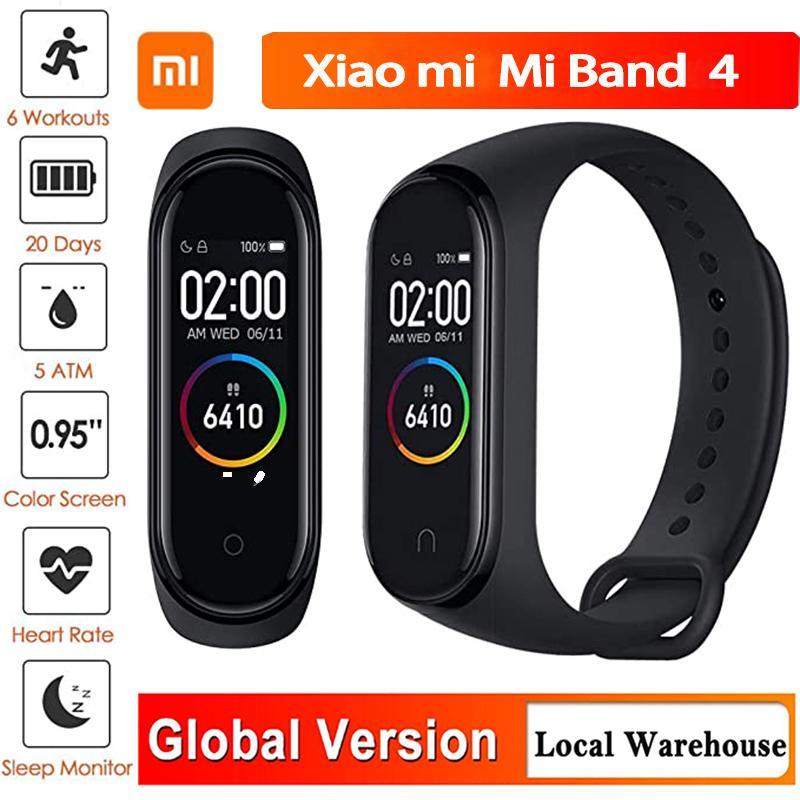 Xiaomi Mi Band 4 Smart Bracelet Fitness Tracker Montre moniteur de fréquence cardiaque sommeil