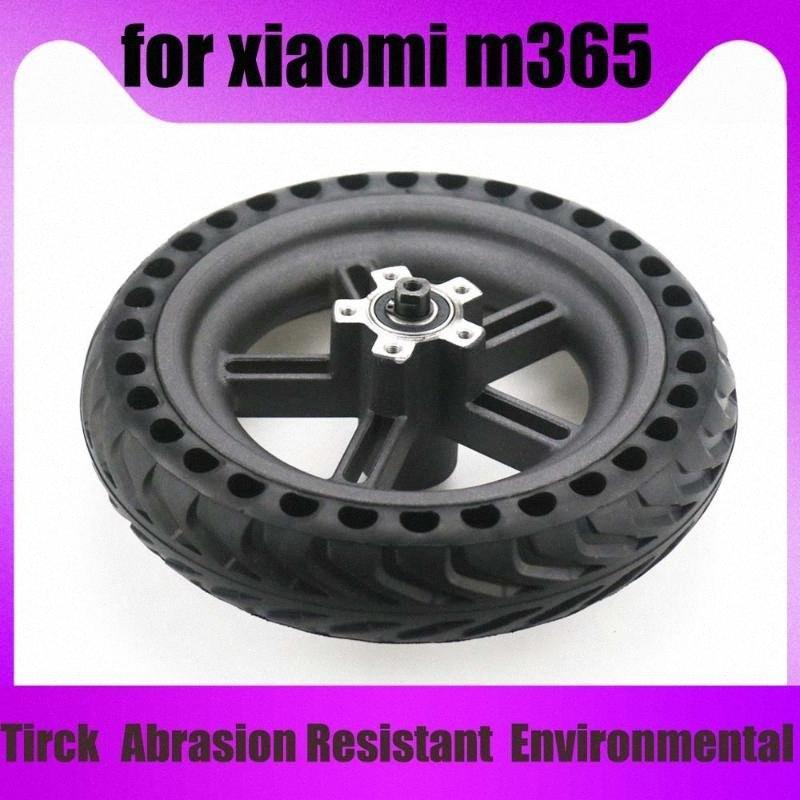 Para Mijia M365 Scooter eléctrico de 8 pulgadas de neumáticos 8 1 / 2x2 Honeycomb sólido 8.5x2 de neumáticos para la M365 Vespa drJ8 #