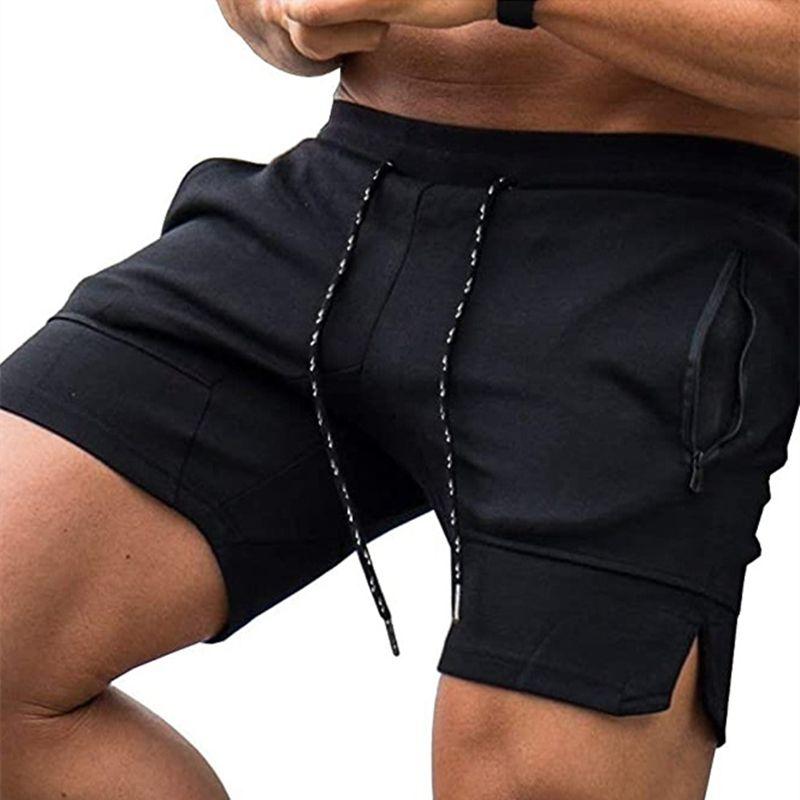 Pantalones cortos para correr entrenamiento Pantalones cortos para hombre Deporte Entrenamiento Fitness Deportivo de secado rápido Gimnasio Sendero Maratón de los pantalones cortos del verano de la playa de los hombres de
