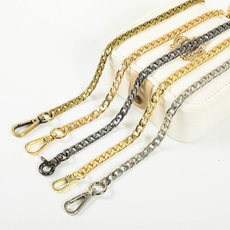 accessori della catena della cinghia borsa catena del metallo della cinghia borsa metallica piana di alta qualità