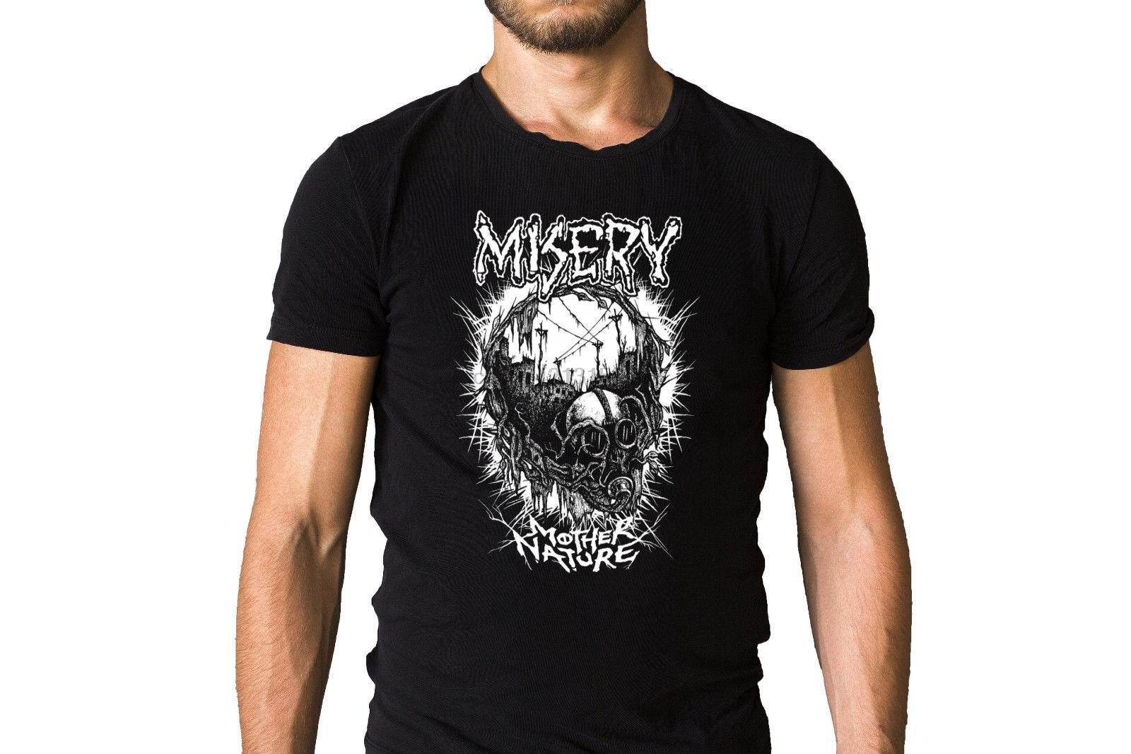 Elend, von wo die Sonne nie Shines 2011 Mutter Natur T-Shirt beiläufige Eignung der Männer-T-Shirt Neueste 2020 Fashion