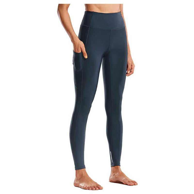 Transparente taille haute Yoga Leggings Collants femmes Vêtements Fitness Workout Respirant Femme Pantalons Élastique Formation # g5