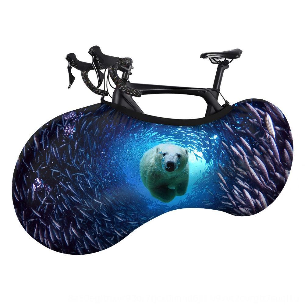 animales marinos coche elástica cubierta sub a prueba de sol a prueba de polvo de tiburón delfín cubierta de la bicicleta de la bicicleta de montaña al aire libre bicycleSubmarine