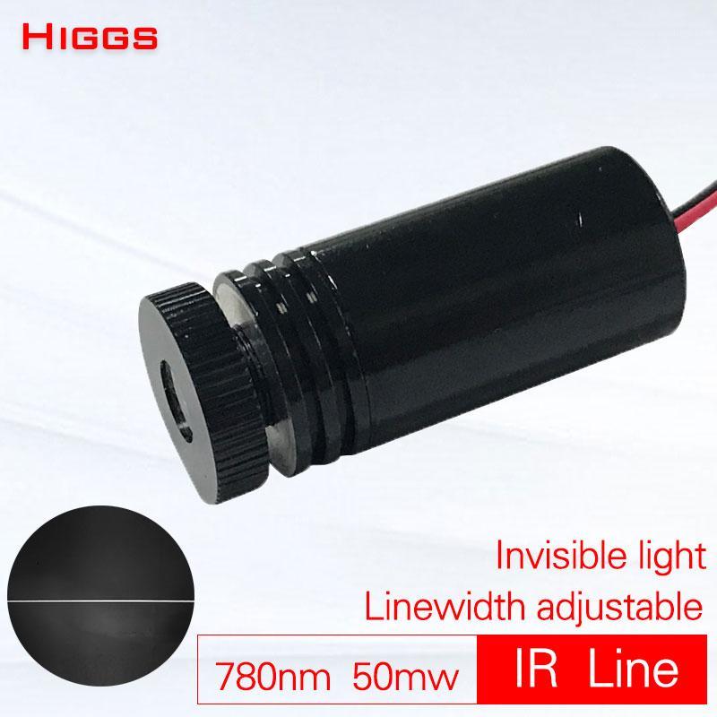 Высокое качество регулируемая ширина линии 780 нм 50mw инфракрасной линии лазерного модуля подметание робота лазера позиции ИК пусковой установки локатора