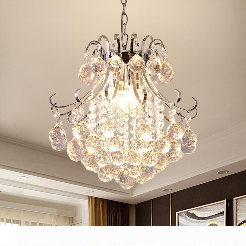 Americana lampada moderna lampadario in stile rurale di lusso Lampadario di cristallo Soggiorno Camera da letto Sala da pranzo Corridoio apparecchio di illuminazione