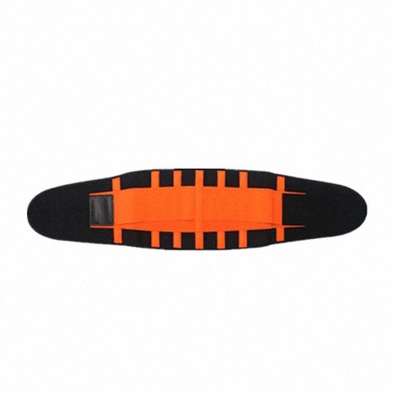 Fitness taille Trimmer Ceinture Soutien lombaire Retour Gym Sport Haltérophilie Ceinture taille élastique réglable abdominale formateur SGMx #