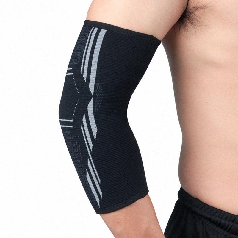 1pc Coudière Protecteur anti-dérapant respirant bras de compression Garde Brace soutien manches pour le basket de course à pied à vélo #