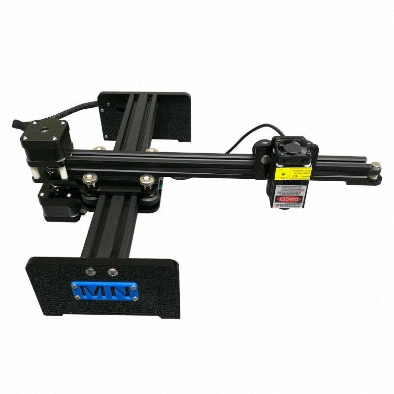 2417 LYbot brazo escritorio portátil sin marco grabado por láser máquina de la etiqueta DIY CNC marca talla grabador 500mw 1000mw 2.5W 5.5W Dzmf #