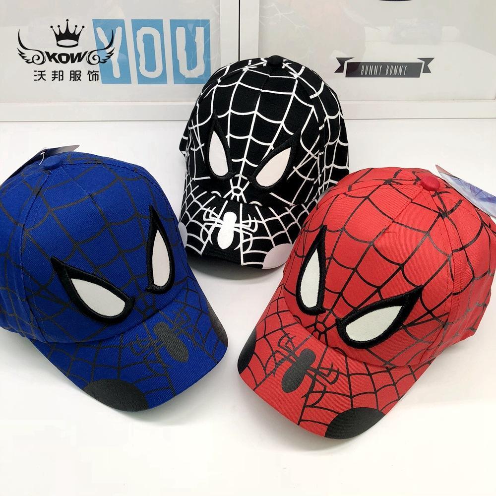 versione coreana dei nuovi bambini s cappello da sole cartone animato all'aperto cappello Marvel protezione del bambino anime snapback berretto da baseball Spider-man