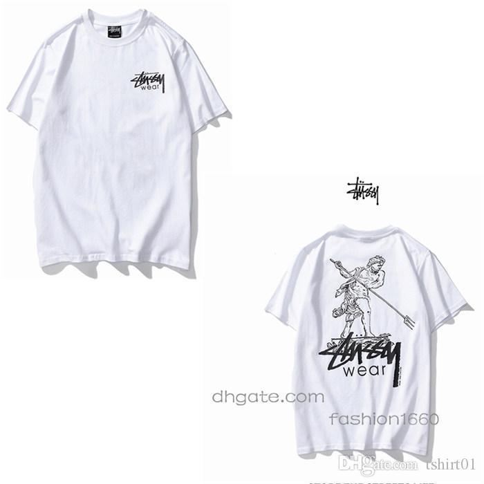 G Verano camiseta de los hombres frescos de la manera de los cráneos Impreso Manga corta tes de las tapas Tee Shirts Ropa tamaño S-2XL 07