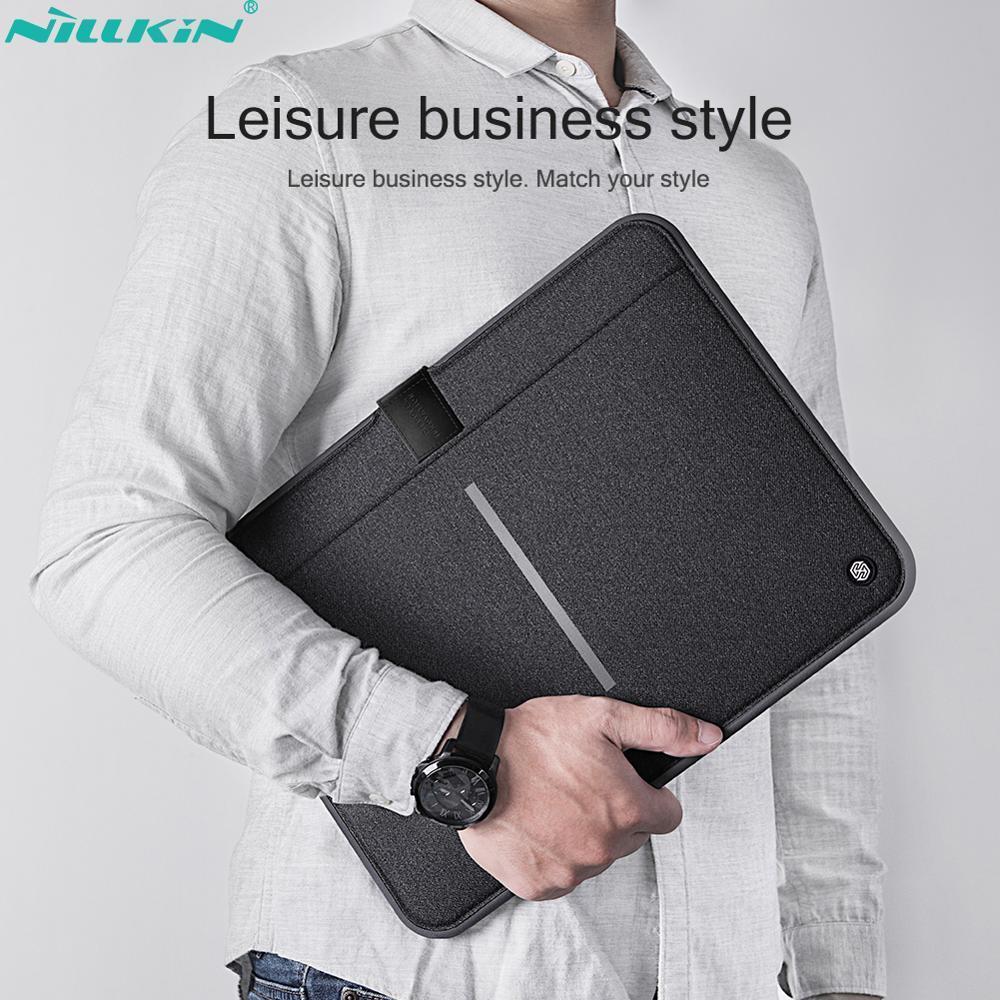 NILLKIN Laptop bag For Macbook Air 13.3 case ,Macbook Pro 13 case Shockproof Waterproof Macbook case For Business laptop sleeve T200720