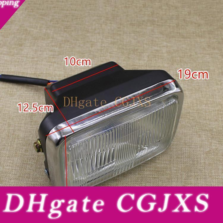 Gs125 Super Bright Headlight Assembly For Motorcycle Accessories ,Headlamp For Bulb ,Square Lamp ,High Quality Material ,Easy To Install