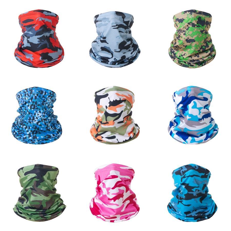 Yaprak Kamuflaj İskelet Dikişsiz Magic Kafa Bandana Ordu Tüp Boyun Man Yüz Maske Bisiklet Başkanı Eşarp Şapkalar # 196 # 579