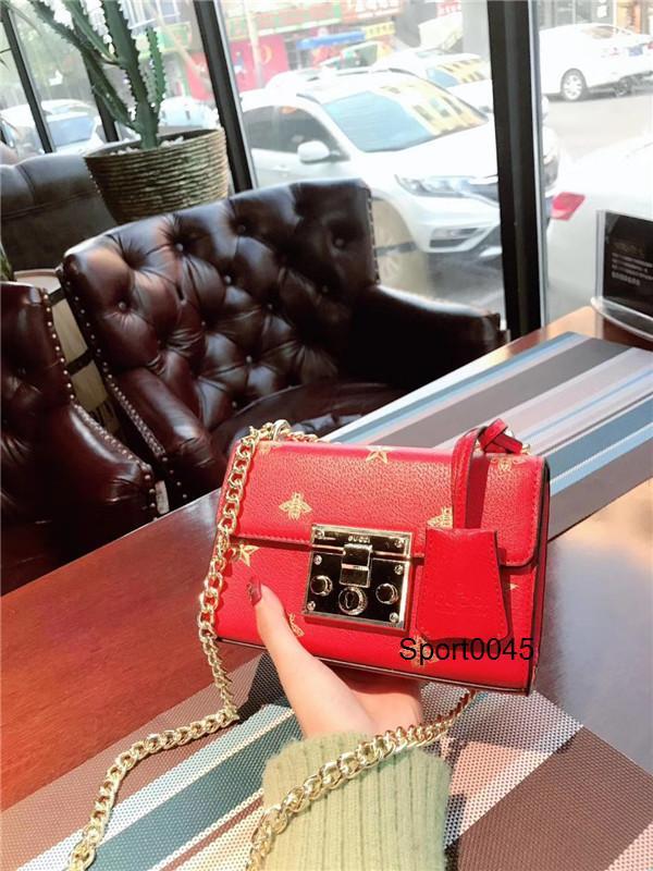 Moda Womens çanta yeni mektup omuz çantaları cüzdan yüksek Qaulitys crossbody Messenger çanta kadın Deri çanta çanta WH1120134