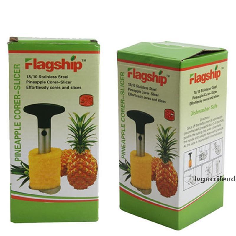 Ananas tart Meyve Dilimleyiciler Peeler Aracı Yenilikçi Ev Paslanmaz Çelik Meyve Soyma Kesici Mutfak Kolay Araçlar Kutusu Parer Bıçak Düzenledi