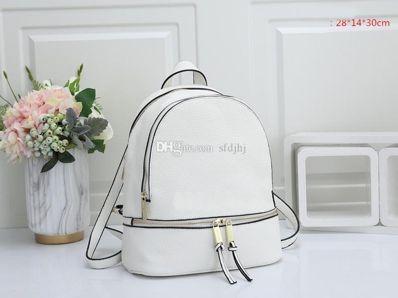 2020 sacchetto di alta qualità borse Designer Leather Mini donne bambini Sacchetti di scuola borsa zaino Famoso Springs Palm Lady Bag borsa da viaggio