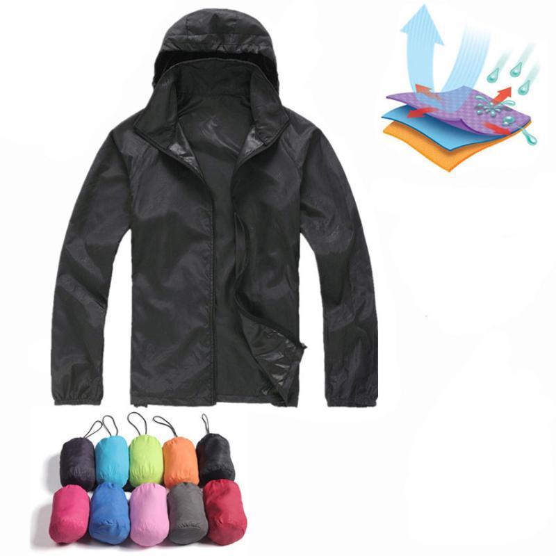 Outdoor JacketShoodies Männer Frauen Sonnenschutz Kleidung Wasserdichte Anti-UV-Sportmäntel Wandern Softshell Freizeitstil