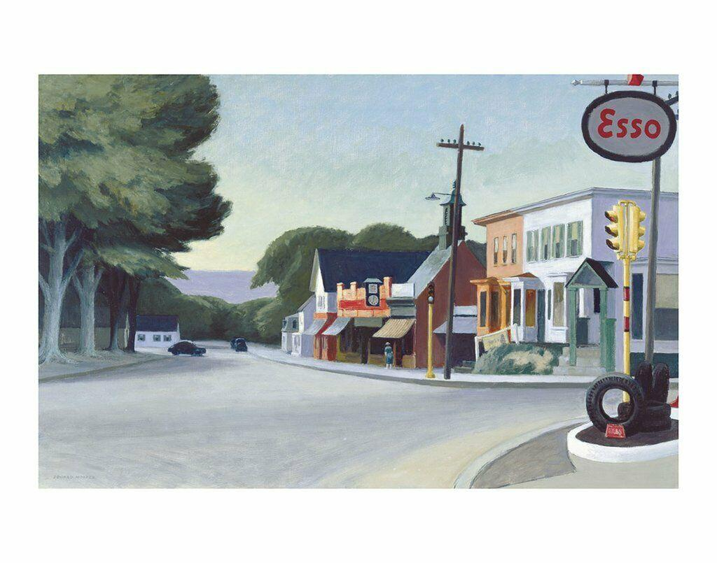 Portrait of Orleans, 1950 by Edward Hopper Home Decor Handpainted &HD Print Oil Painting On Canvas Wall Art Canvas Pictures 200802